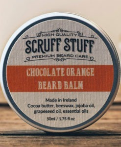 Scruff Stuff Chocolate Orange Beard Balm