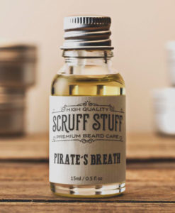 Scruff Stuff Pirates Breath Beard Oil