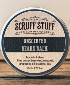 Scruff Stuff Unscented Beard Balm