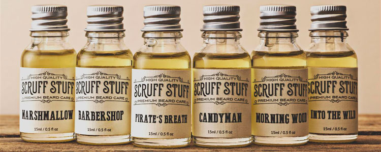 Scruff Stuff Beard Oils