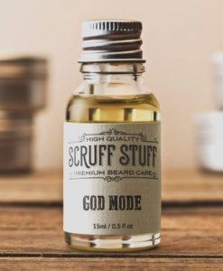 Scruff Stuff God Mode Beard Oil