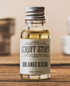 Scruff Stuff Orange Kush Beard Oil